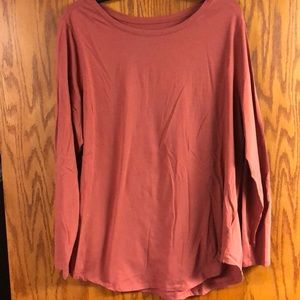 Old Navy 2x fitted long sleeve shirt